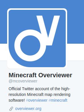Overviewer Twitter